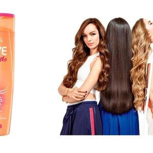 L'Oreal Paris Elseve  Dream Vitamin Keratin Herstellende Shampoo Lang En Beschadigd Haar 400 ml