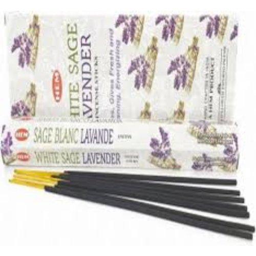 HEM Wierook White Sage Lavender Hexa Luchtverfrisser Geurkaarsjes