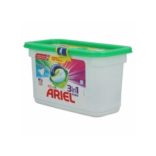 Ariel Wasmiddel Allin1 Pods Color 13 stuks (13x27g)351 gr