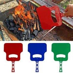Eda Eda BBQ Waaier - BBQ Blazer - BBQ Ventilator - BBQ Tool - Barbecue Hand Blower - Hand Waaier Voor Barbecue.