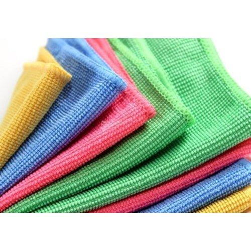 Eda Eda Microvezel Handdoeken Multy-Gebruik(micro doekjes) Mix Kleur 30x30 cm  4 stuks