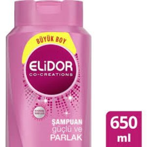 Elidor Elidor Şampuan  Guclu ve Parlak  650 ml