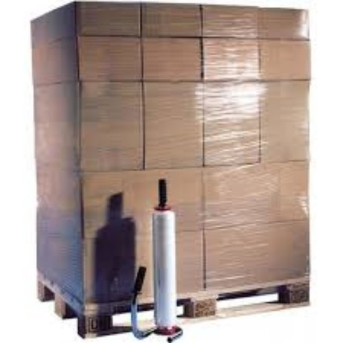 Onbekend Pallet folie LDPE 500 mm Breed transparant 17 my 300m Verpakkingsfolie,Rekwikkelfolie,UTT Standart,Handwikkelfolie