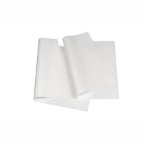 Pergament-Ersatz, 1/8 Bogen,50g/m 37,5 cm x 25 cm weiss à 12,5 kg, vetdicht