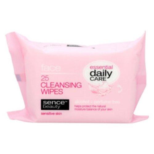 Sence SenceBeauty  Make Up Reinigingsdoekjes Gevoelige Huid  Sensitive Skin 25 st