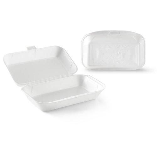 KLNC Lunch- en Loempiabox Foam Wit - 125 st