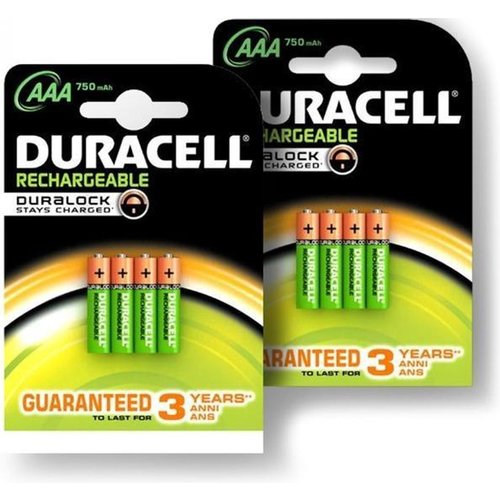 Duracell Duracell Rechargeable 750mAh AAA 2 st