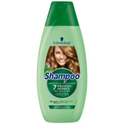 Schwarzkopf Schwarzkopf 7 Kruiden Shampoo 400 ml