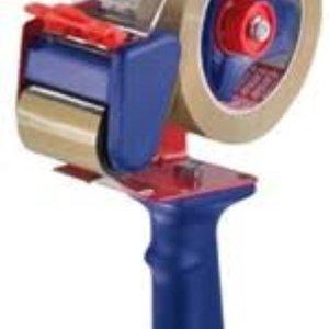 Tesa Tesa Plakbanddispenser 57108 Bruin Rolbreedte (max.): 50 mm met mesbescherming