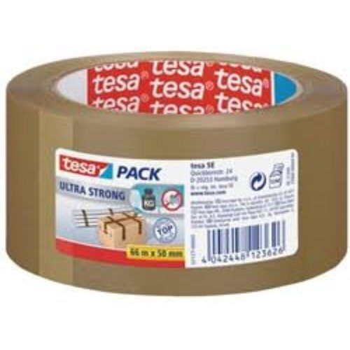 Tesa Tesa® tape PVC 4120 bruin 50 mm x 66 m 49my plakband