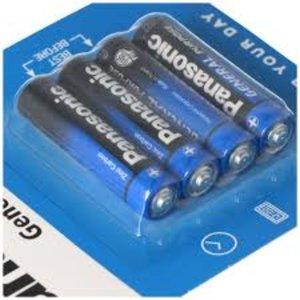Panasonic Panasonic AAA Zinc Carbon General Purpose | 4 stuks