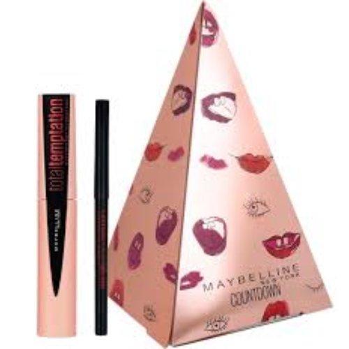 Maybelline Maybelline Total Temptation Mascara en Lasting Drama Gel Liner Giftset - Make-up Geschenkset