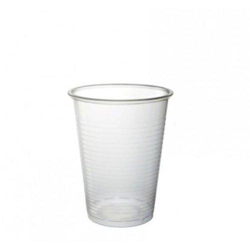 Beker,Kunststof cup, PP, 200ml, 103mm, transparant,100st