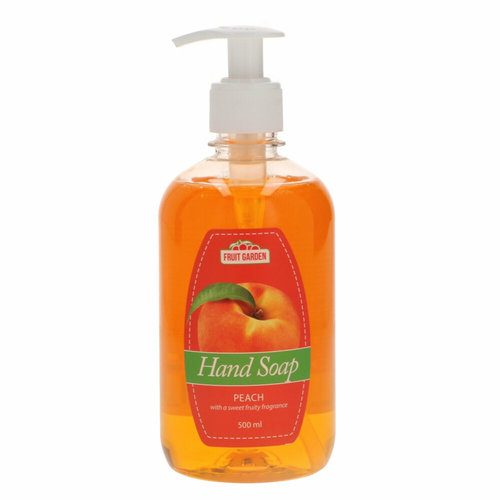 Sence Fruit Garden Handzeep Pompje  Perzik 500 ml