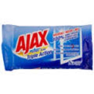 Ajax Ajax Glaswipes - Triple Action 40 stuks