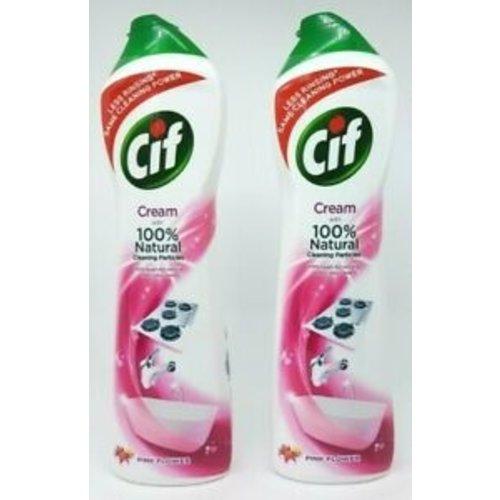 Cif Cif Schuurmiddel Pink Flower 500 ml