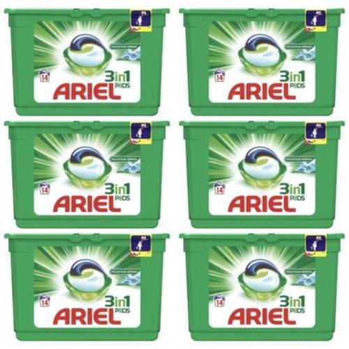 Ariel Ariel Wasmiddel Pods 3 in 1 Original (14x27gr)  378 gr 14 sc