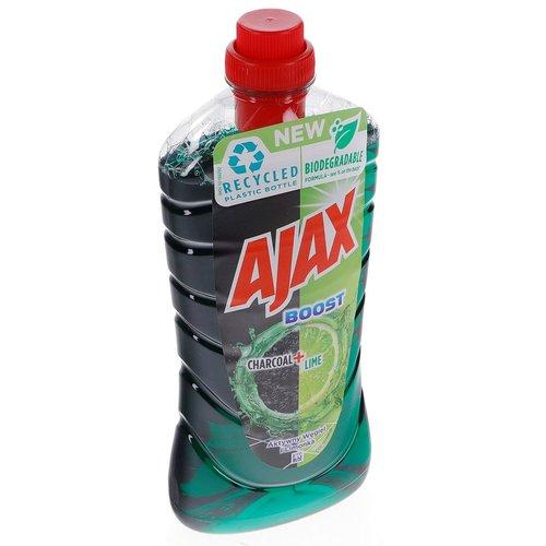 Ajax Ajax Allesreiniger Boost Charcoal + Lime 1 liter