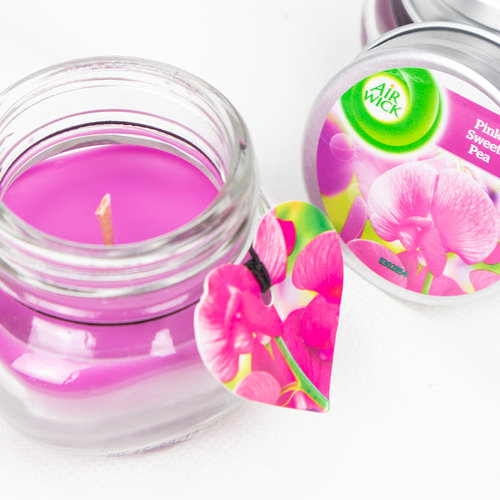 Air Wick Candle 30gr Pink Sweet Pea
