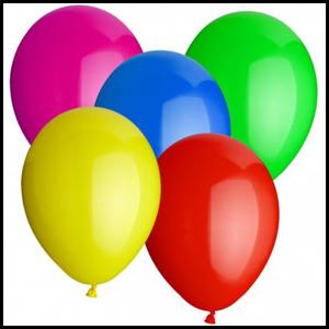 Eda Eda Ballonnen Mix Kleur 25 st 10 inch