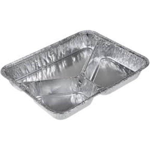 Onbekend Bak, Aluminium, 3-Vaks, Laag 775/44G, 100st