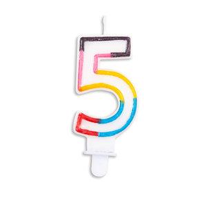 Verjaardag kaars, 3 Jaar