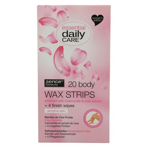 Sence Sence Wax Display Strips Body Sensitive Skin 20st