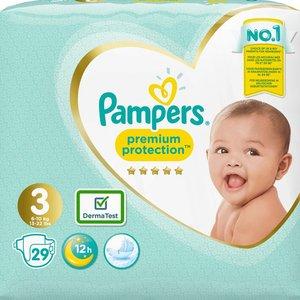 Pampers Pampers Premium Protection  Maat 3 (6-10 kg) 29 stuk luiers
