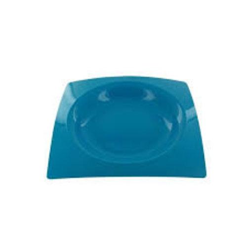 Plastic Borden Tablea Set van 8 stuks Grijs 200 x 200 mm