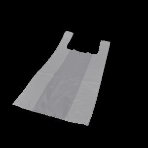 Onbekend Tas, HDPE, Hemd, 32x20x60cm, hemdtas, wit 1000st 22my