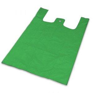 Onbekend Tas, HDPE, Hemd, 32x20x60cm, hemdtas, Groen  1000st 22my