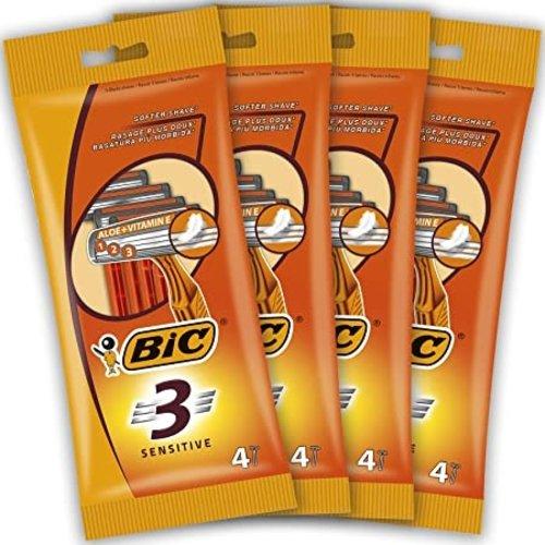 Bic Bic 3 mesjes scheermes 4st sensitive