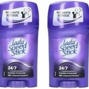 Lady Speed Stick - Solid antiperspirant for day protection against perspiration 7.24 Invisible (Wetness & Odor Protection) 45 g (L)
