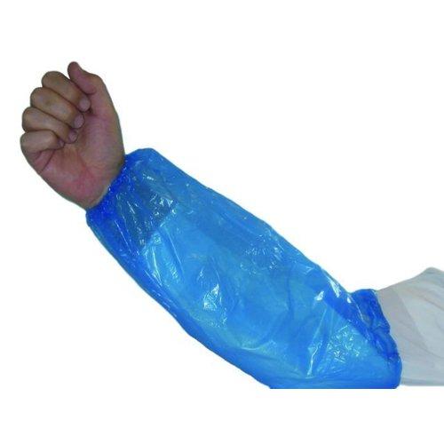 Care & Serve Mouwbeschermer, LDPE, 20x40cm, 20my, blauw