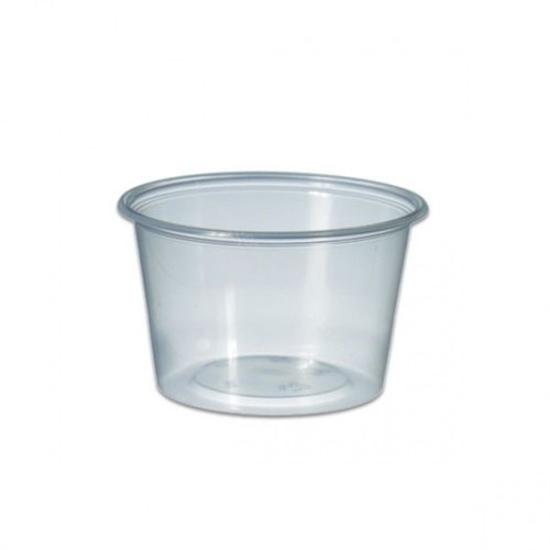 Cup, PP,MW Rond 1000ml, Ø115mm, kunststof cup, 135mm, transparant,250st(hupack)