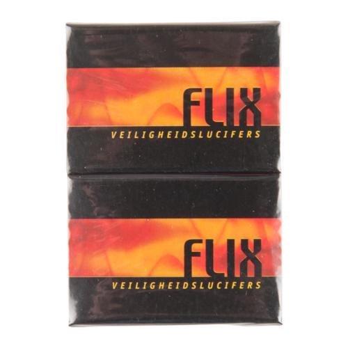 Flix Veiligheidlucifers 10 pak 40 stuks