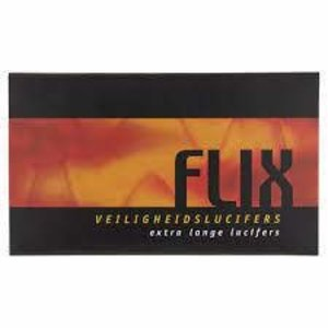 Flix Veiligheidlucifers Extra Lang 45 stuks