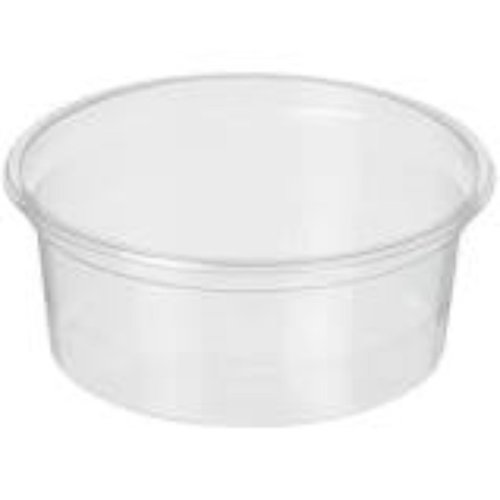 Onbekend Bak, kunststof cup, transparant, Sauscoup 50cc 100st