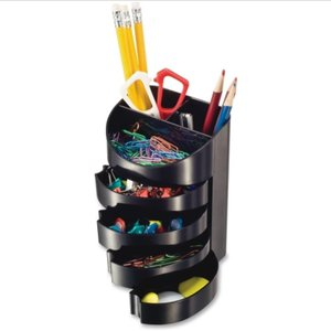 Officemate OIC Desktop Supply Organizer, 2 Compartment(s) - 5 Drawer(s)