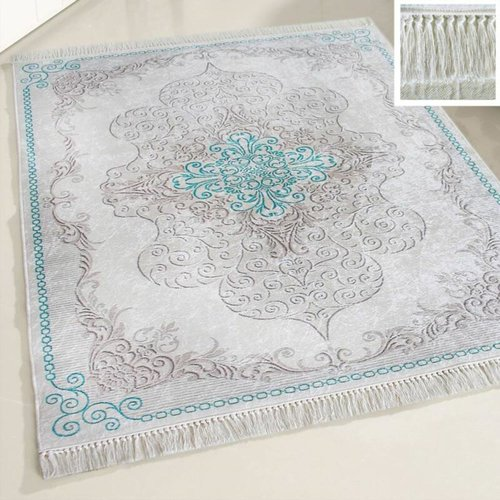 Caimas Caimas 2518 Wasbaar tapijt Turquoise 160x230