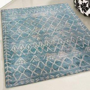 Rustik Rustik 7796 Vintage tapijt Blauw design 160x230
