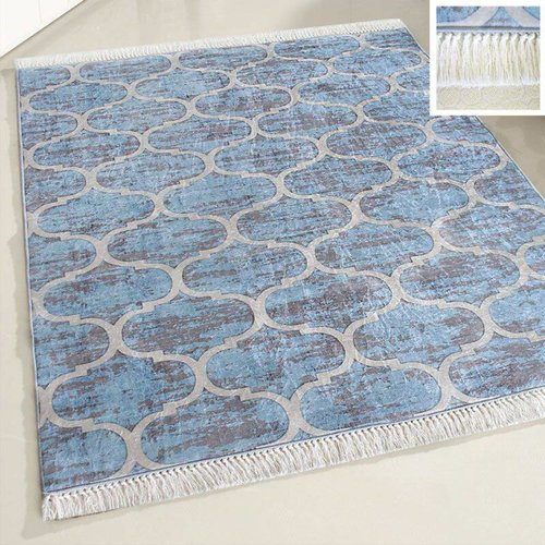 Caimas Caimas 2740 Wasbaar tapijt Blauw Marokkaanse design 160x230-1DS-1240
