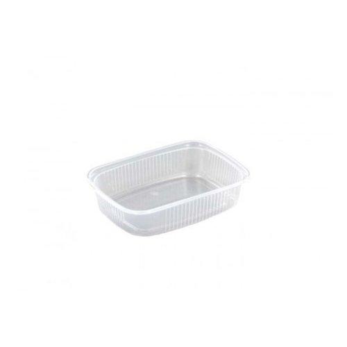Saladboxx bak, PP, 125mm, kunststof cup, transparant, 100st