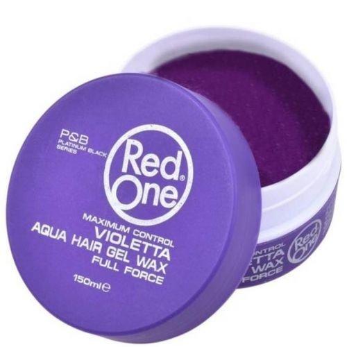 RedOne RedOne Full Force Aqua Hair Gel Wax Violetta 150 ml