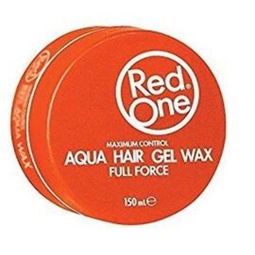 RedOne RedOne Full Force Aqua Hair Gel Wax Orange 150 ml