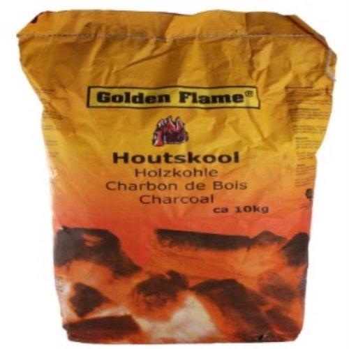 Golden Flame Houtskool, charcoal 10 kg