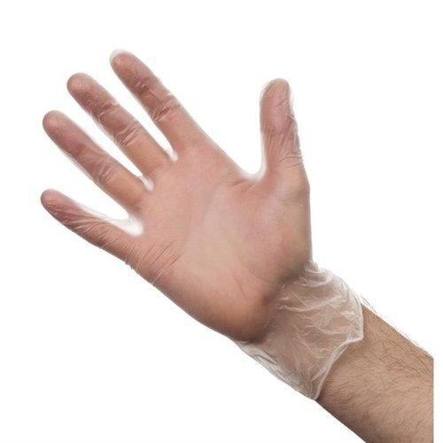 Disposable Vinly Gloves Poedervrij Medium Handschoenen Wit-100stuks/doos