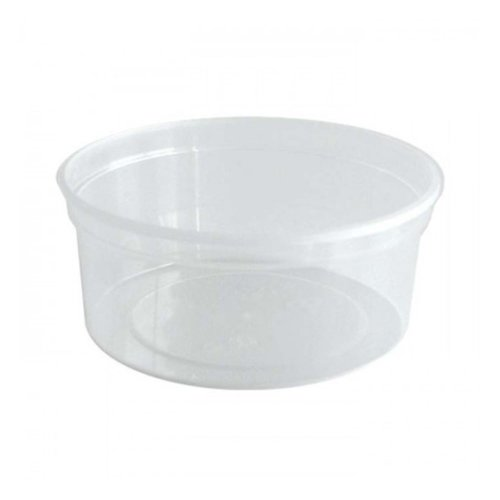 Cup, PP,Rond, 350cc, Ø 140mm, 70mm, transparant,50st x10pk ds
