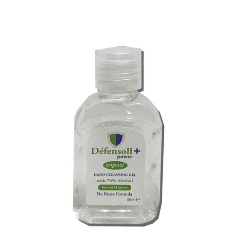 Defensoll Hand Cleansing Gel 50ml 70 % Alcohol