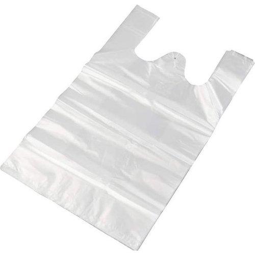 HDPE Tas, HDPE, Hemd, 27+6,5+6,5 x 48cm, hemdtas,(transparant) wit,14my,1000st